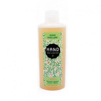 Acqua micellare BIO detergente all'arancio e melissa H.A.N.D.