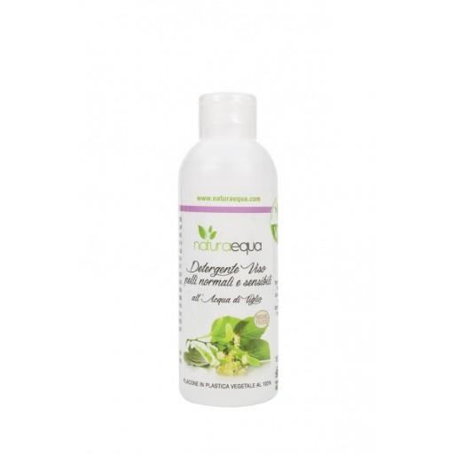 Detergente per Pelli Normali e Sensibili all'Acqua di Tiglio - Naturaequa