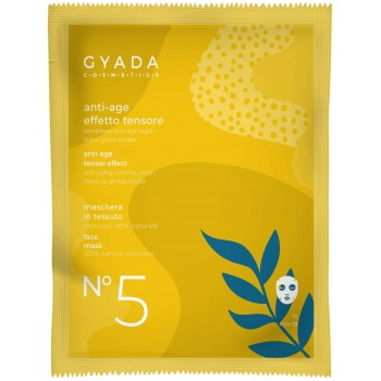 Maschera AntiAge / Effetto Tensore in Cellulosa - Gyada Cosmetics