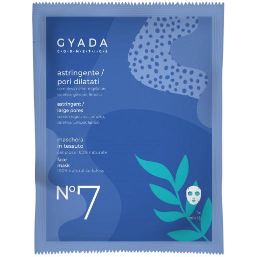 Maschera Astringente / Pori Dilatati in Cellulosa - Gyada Cosmetics
