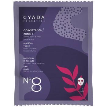 Maschera Opacizzante / Zona T in Cellulosa - Gyada Cosmetics