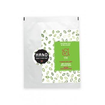 Maschera viso BIO Filler in cellulosa biologica certificata - H.A.N.D.
