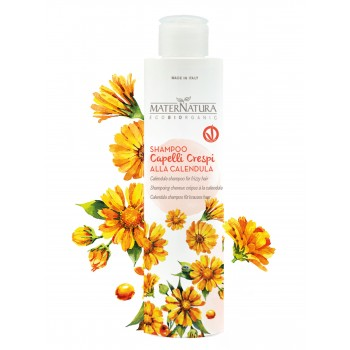 Shampoo Capelli Crespi alla Calendula - Maternatura