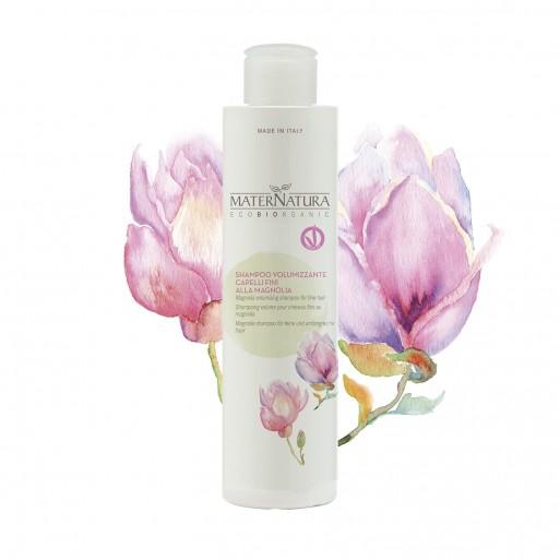 Shampoo Volumizzante capelli fini alla Magnolia Maternatura