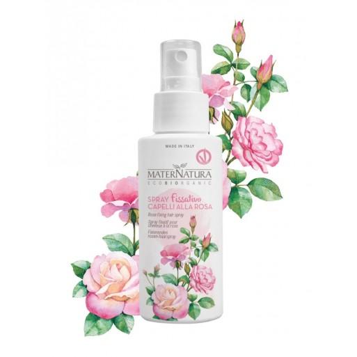 Spray Fissativo Capelli alla Rosa Maternatura