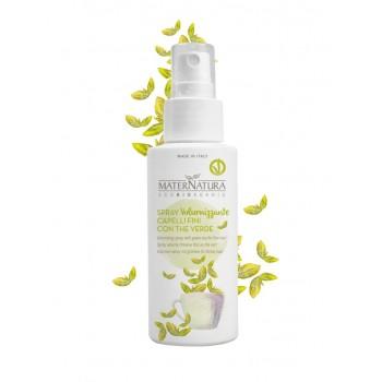 Spray Volumizzante Capelli Sottili con The Verde Maternatura