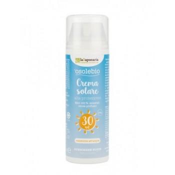 Crema solare alta protezione SPF 30 - La Saponaria