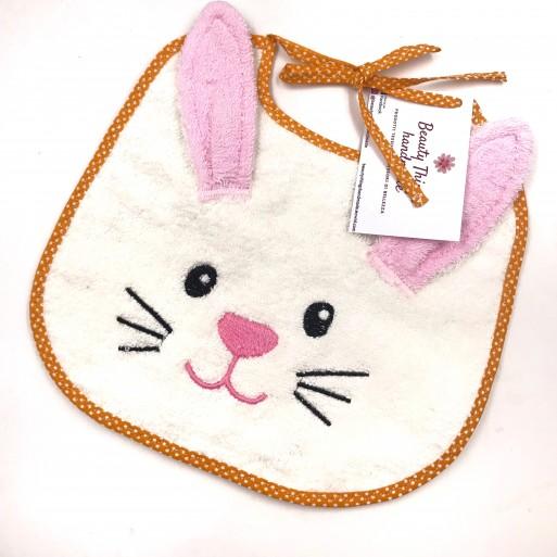 Bavaglino per bimbi Coniglietto - Beauty Things Handmade