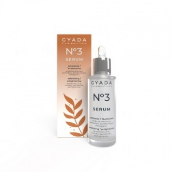 Siero Viso N. 3 Esfoliante / Illuminante - Gyada Cosmetics