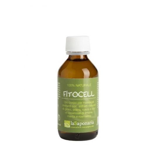 Fitocell - olio corpo per massaggi - La Saponaria
