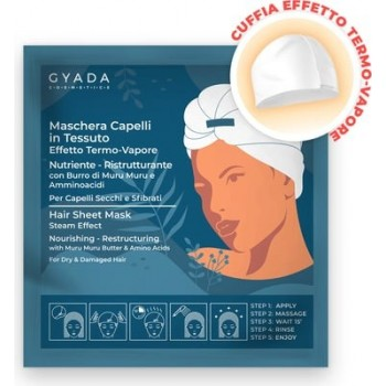 Maschera Capelli in Tessuto Nutriente e Ristrutturante - Gyada