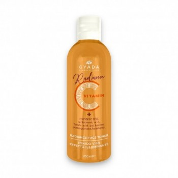 Radiance Face Toner - Tonico Viso Illuminante alla Vitamina C - Gyada
