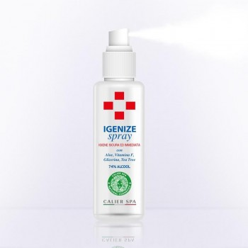 Spray Igienizzante per Mani e Superfici - Calier Spa