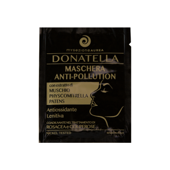 Donatella - Maschera Viso Monouso Anti-Pollution,...