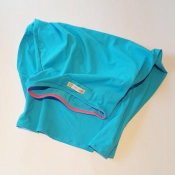 Towel T-Shirt Azzurro telo asciugacapelli - Naturangi...