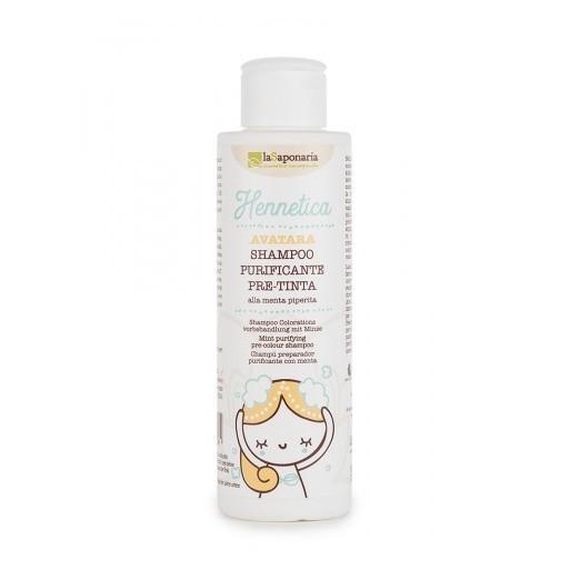Shampoo Purificante Pre-Tinta Hennetica La Saponaria